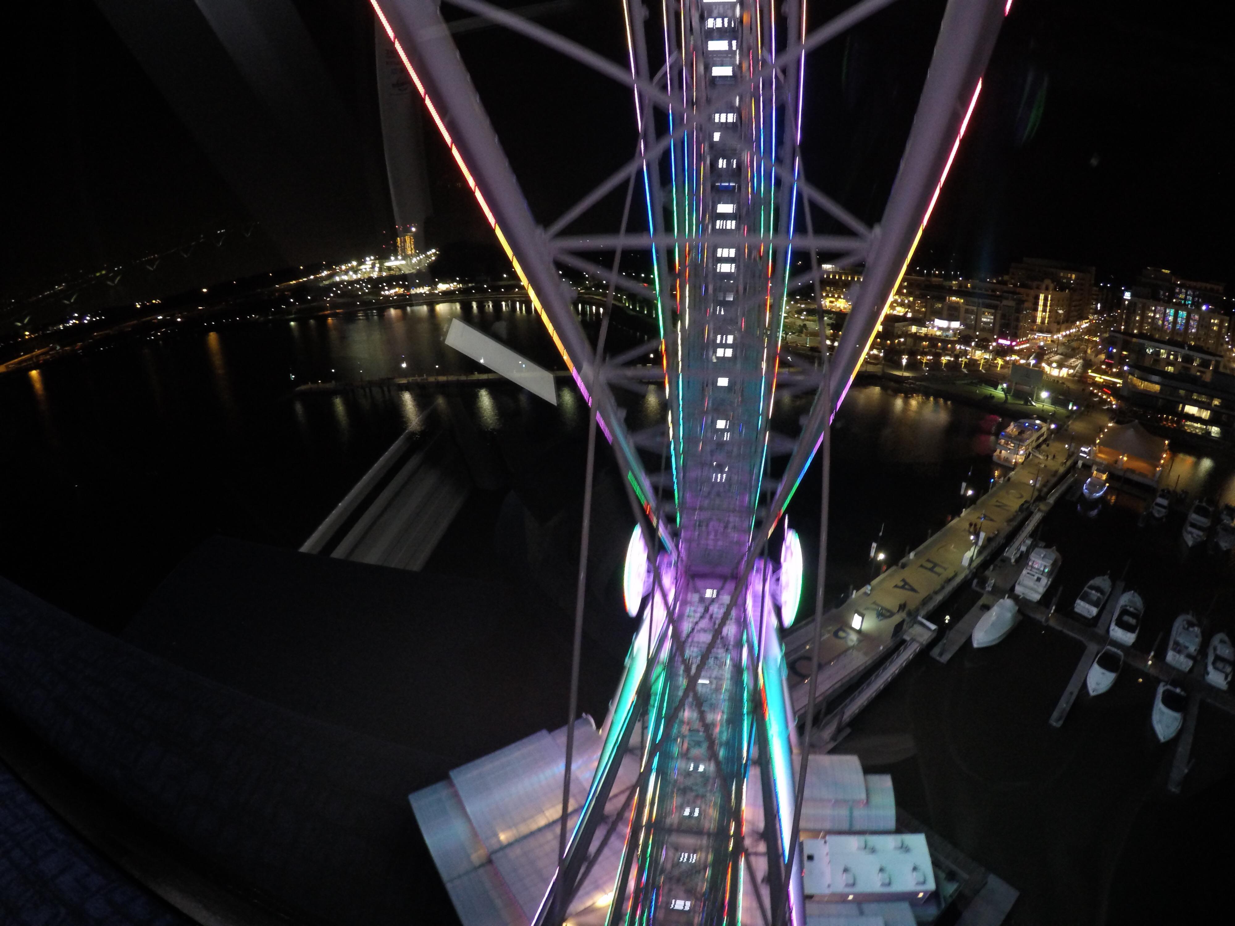 The Capital Wheel - Mesmerising LED Lights
