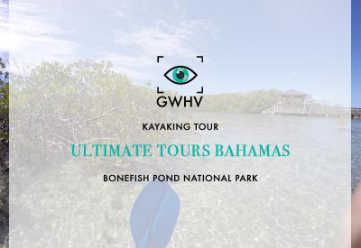 Kayaking with Ultimate Tours Bahamas