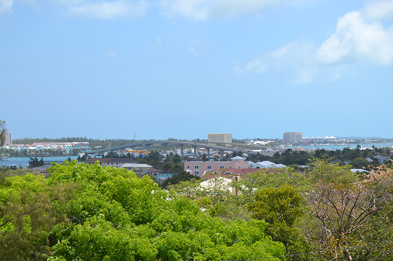 View from the top of the Fort