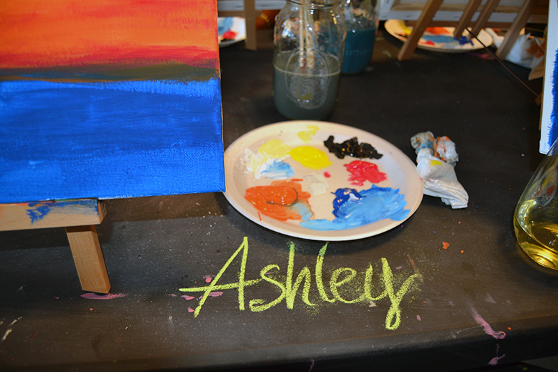 Personalized painting space