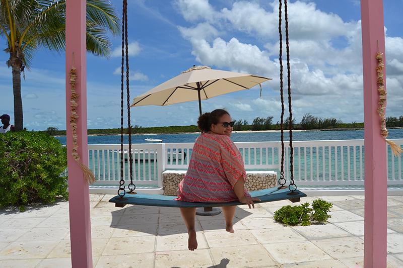 Pearl Island Ashley on Swing