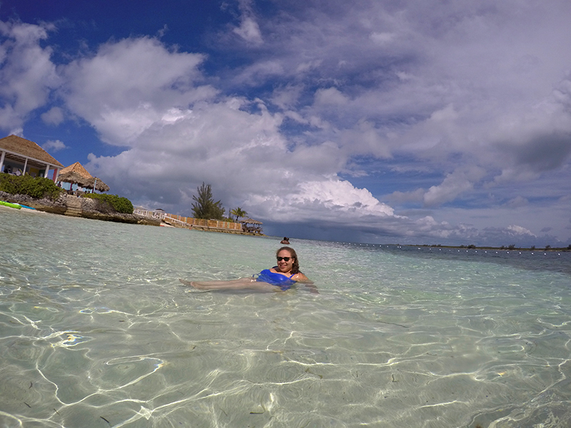 Pearl Island GWHV in Water