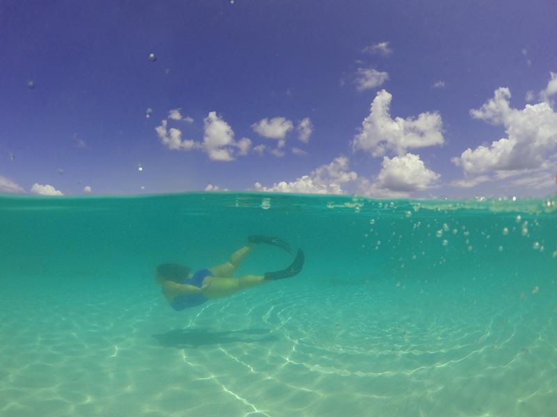 I am a thalassophile - diving