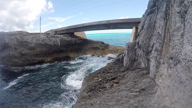 View from Atlantic - The Glass Window Bridge
