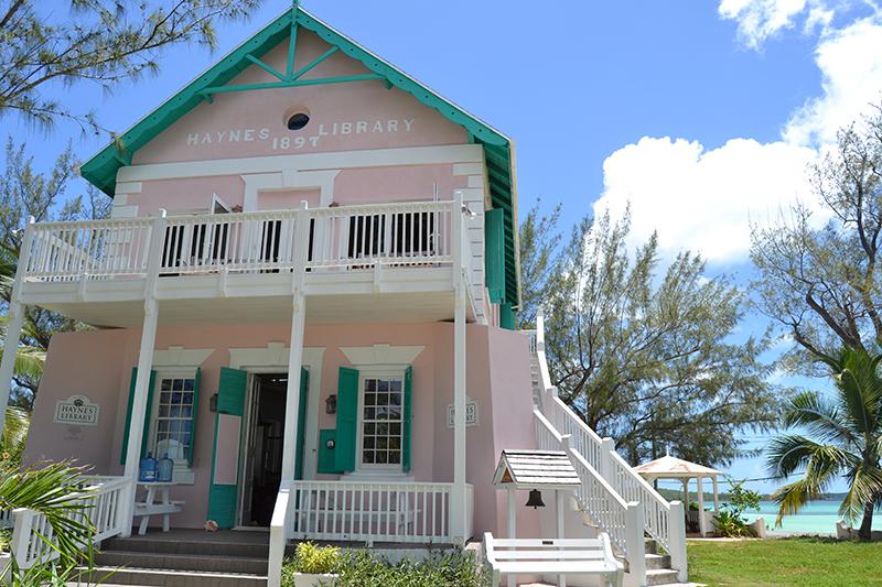 Exterior - Haynes Library