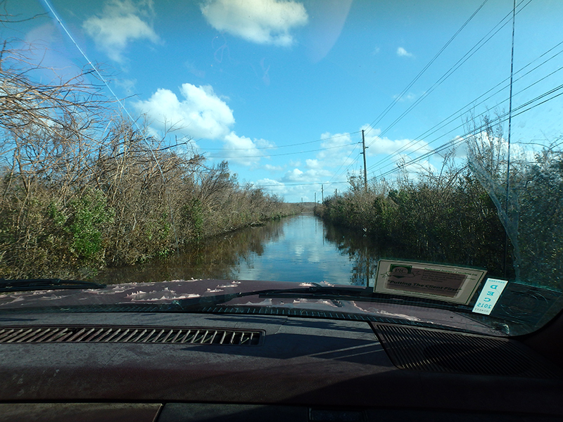 Hurricane Matthew - Joaquin 2015 flooding
