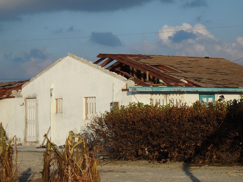Hurricane Matthew - Joaquin 2015 home damage