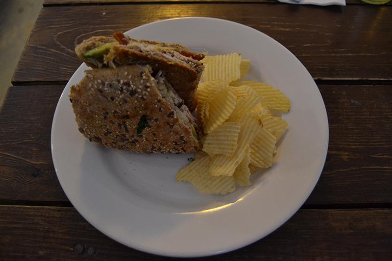 Da Perk - Avocado, Bacon, Chicken Sandwich