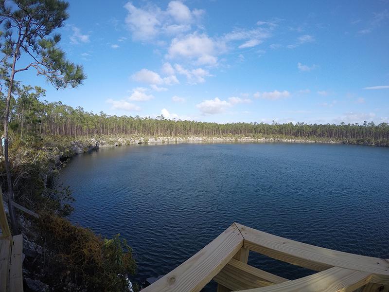 CaptianBill'sBlueHole-Pavilion View