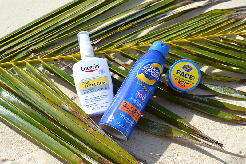 Protecting your skin - sunblock