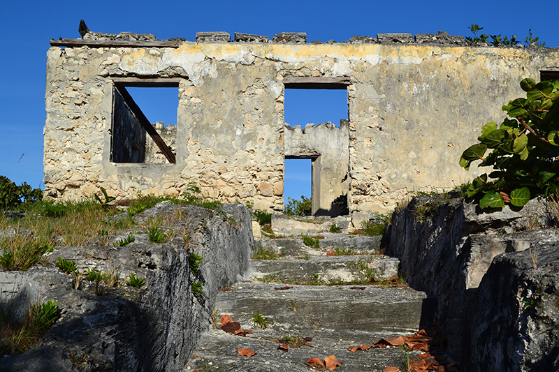 The Bahamas Out Islands - Pompey Ruins