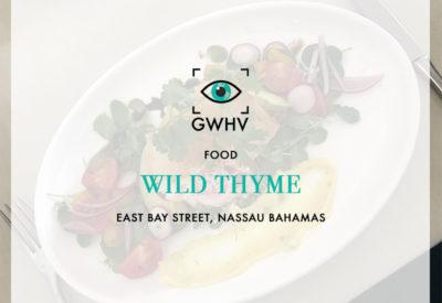 FOOD: Wild Thyme